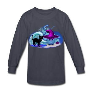 Halloween at the Beach - Kids' Long Sleeve T-Shirt