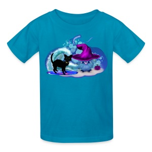 Halloween at the Beach - Kids' T-Shirt
