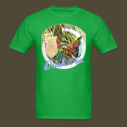 Drink It In Piña Colada - Men's T-Shirt