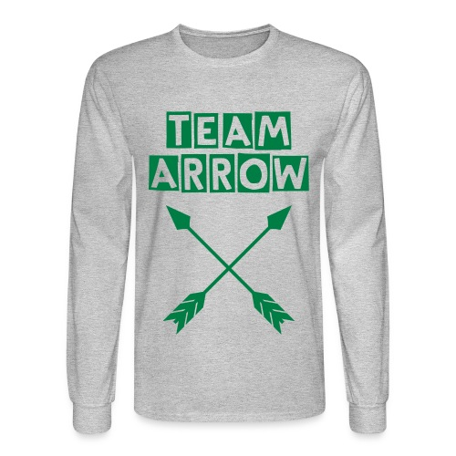 #TeamArrow - Men's Long-Sleeve - Men's Long Sleeve T-Shirt