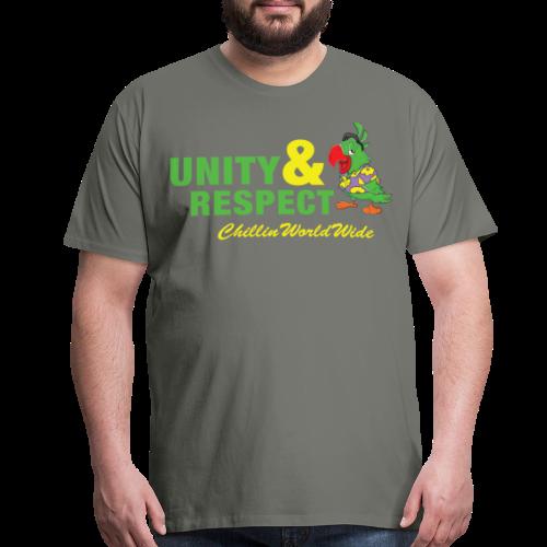 Unity & Respect Men's T-Shirt - Men's Premium T-Shirt