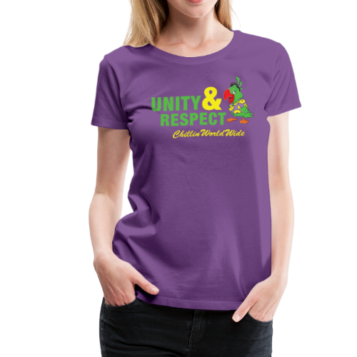Unity & Respect Women's T-Shirt - Women's Premium T-Shirt