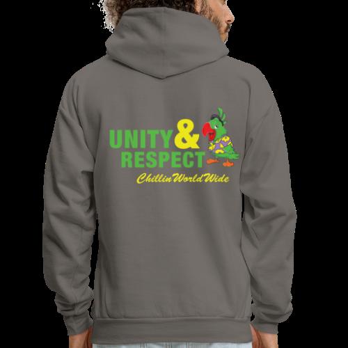Unity & Respect Men's Hoodie - Men's Hoodie