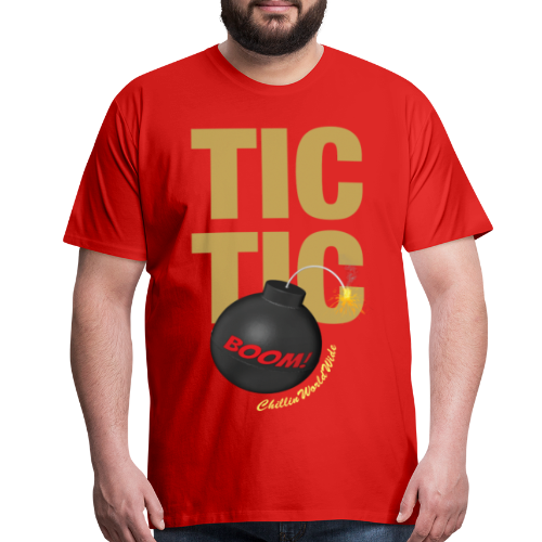 TIC TIC BOOM Men's T-Shirt - Men's Premium T-Shirt