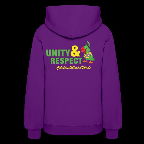 Unity & Respect Women's Hoodie - Women's Hoodie