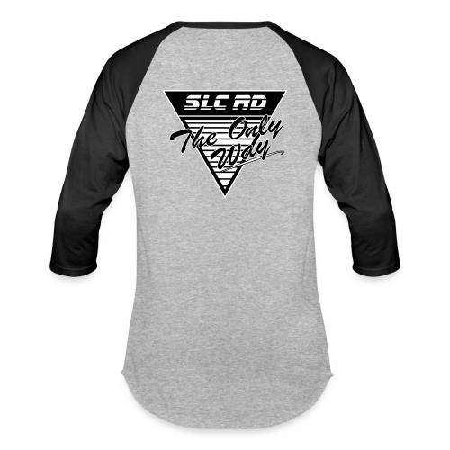 The Only Way 3/4 sleeve - Baseball T-Shirt