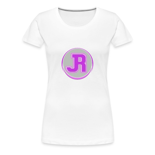 JR Pink Logo - Women's Premium T-Shirt