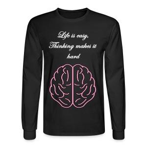Life is Easy Long Sleeve - Men's Long Sleeve T-Shirt