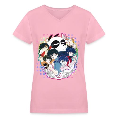 Let's Fight! - Women's V-Neck T-Shirt