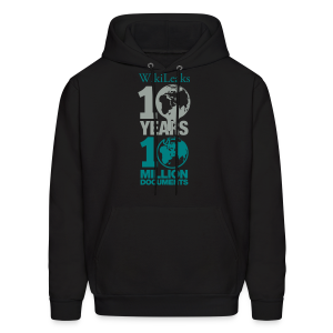 10 Years 10 Million Docs - Men's Hoodie