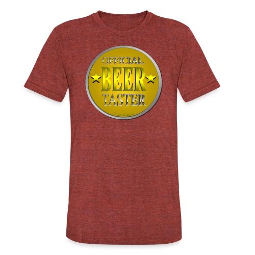 Official Beer Taster Unisex Tri-Blend T-Shirt - Unisex Tri-Blend T-Shirt