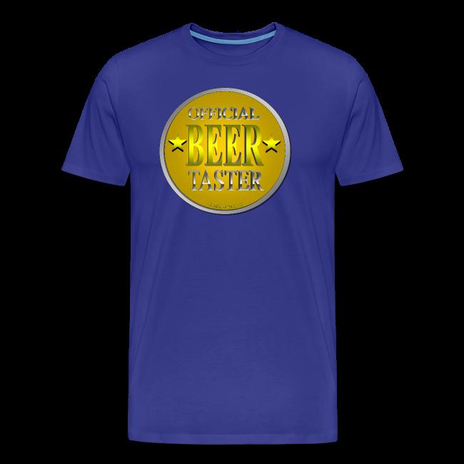 Official Beer Taster Men's Premium T-Shirt