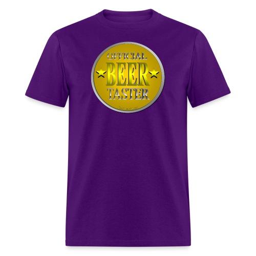 Official Beer Taster Men's T-Shirt - Men's T-Shirt