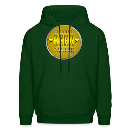 Official Beer Taster Men's Hoodie - Men's Hoodie