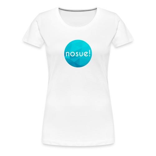 New nosue logo Womens - Women's Premium T-Shirt