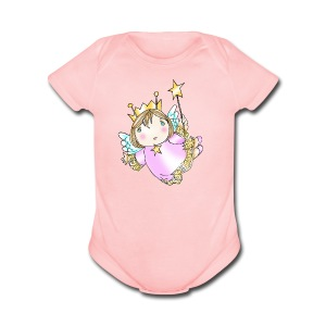 Angel Onsie - Short Sleeve Baby Bodysuit