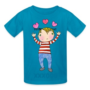 Barrett Blue Kids T - Kids' T-Shirt