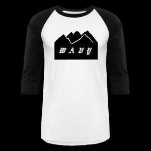 Baseball White/Black - Baseball T-Shirt