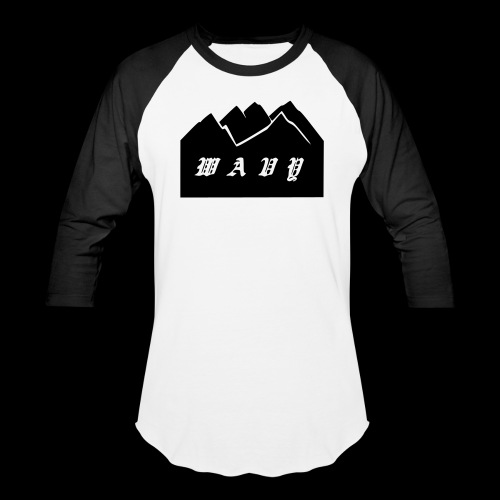 Baseball White/Black - Baseball T-Shirt