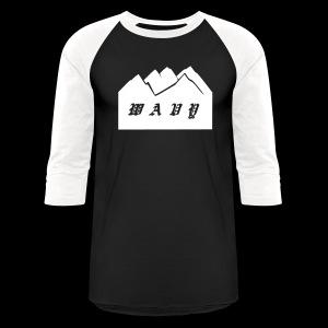 Baseball Black/White - Baseball T-Shirt
