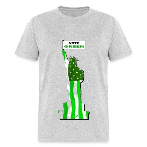 Vote Green - Men's T-Shirt