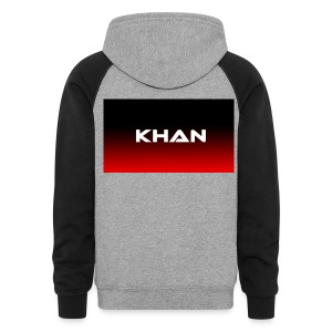 Khan's First name - Colorblock Hoodie