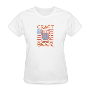 American Craft Beer - Women's T-Shirt