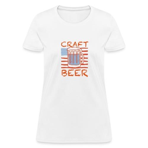 American Craft Beer - Women's T-Shirt