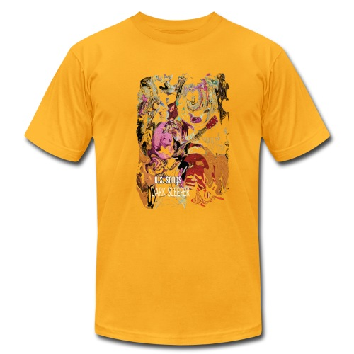 U.S. Songs  Psychedelic - Men's Fine Jersey T-Shirt