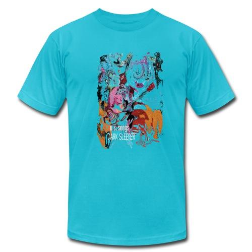 U.S. Songs  Psychedelic - Men's Fine Jersey T-Shirt