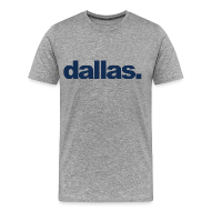 T-Shirts ~ Men's Premium T-Shirt ~ Dallas.