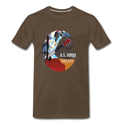 U.S. Songs circle  - Men's Premium T-Shirt