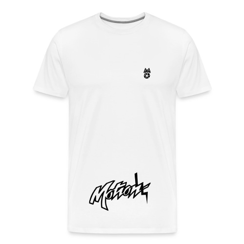 Motion White T-Shirt (Motion Main) - Men's Premium T-Shirt