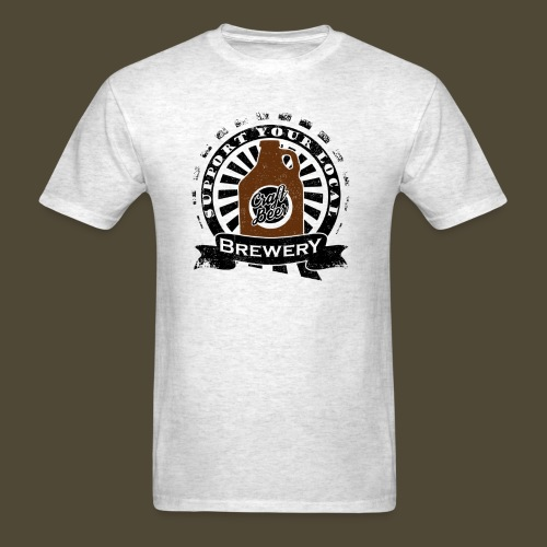 Support Your Local Brewery Dark - Men's T-Shirt