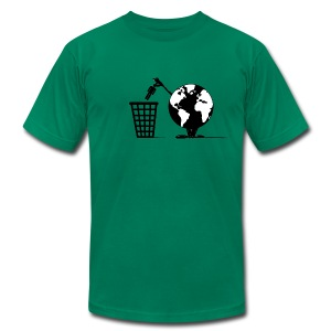 Waste Disposal - Men's T-Shirt by American Apparel