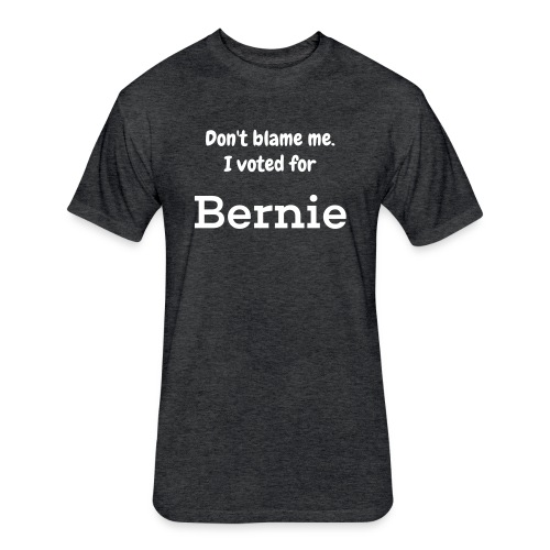 Dont Blame Me - Fitted Cotton/Poly T-Shirt by Next Level