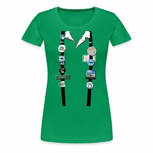 Office Space - Joanna's Flair - Women's Premium T-Shirt