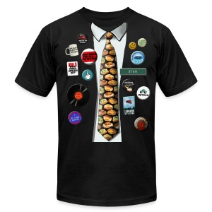 Office Space - Stan's Flair - Men's T-Shirt by American Apparel