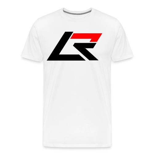 LR T-Shirt White - Men's Premium T-Shirt