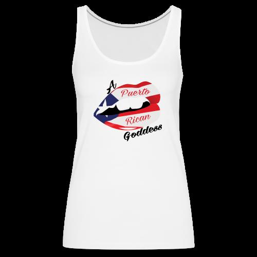 Puerto Rican Goddess - Women's Premium Tank Top