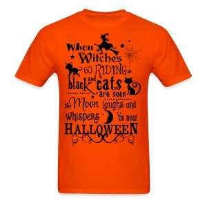 When Witches Men - Men's T-Shirt