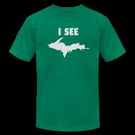 T-Shirts ~ Men's T-Shirt by American Apparel ~ I See U.P.