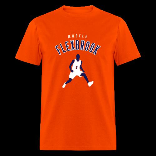 Muscle Flexbrook - Orange - Men's T-Shirt
