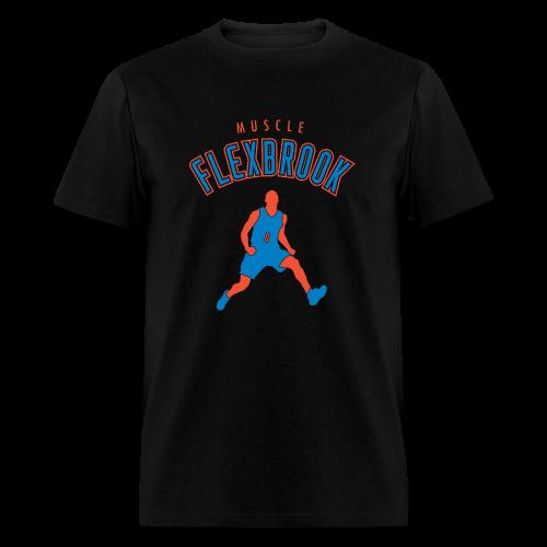 Muscle Flexbrook - Black - Men's T-Shirt