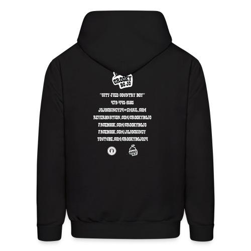 Crooky BoJo Black Hoodie - Men's Hoodie