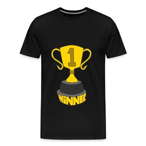 Winner's Trophy - Men's Premium T-Shirt