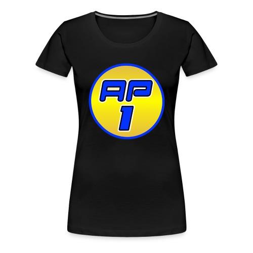 AP1 Women's Premium T Shirt : black - Women's Premium T-Shirt