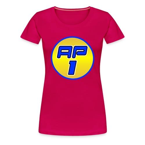 AP1 Women's Premium T Shirt : dark pink - Women's Premium T-Shirt