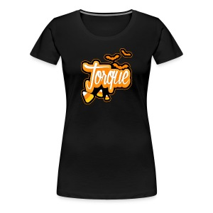 Premium Torque Halloween Shirt for Women - Women's Premium T-Shirt