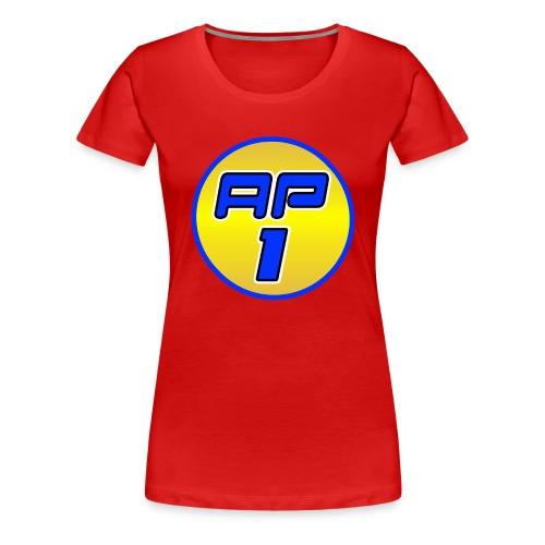 AP1 Women's Premium T Shirt : red - Women's Premium T-Shirt